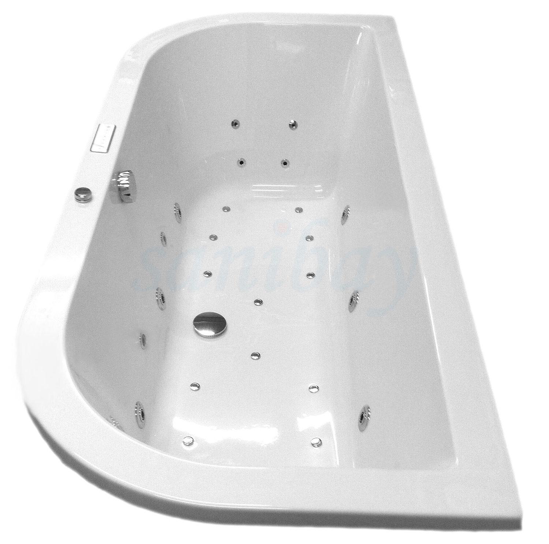 Beispiel 11 Badewanne mit Whirlpool Comfort