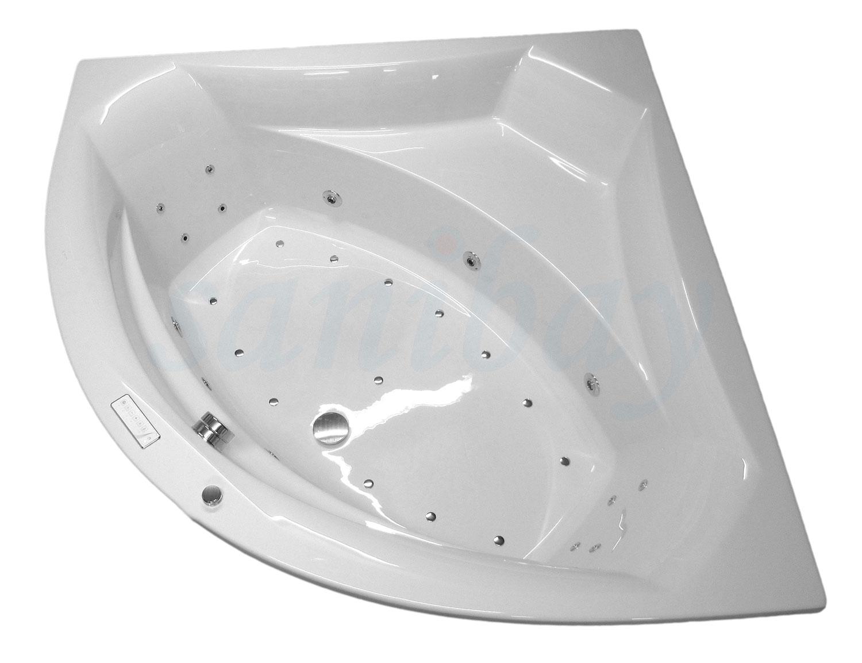 Beispiel 3 Badewanne mit Whirlpool Comfort